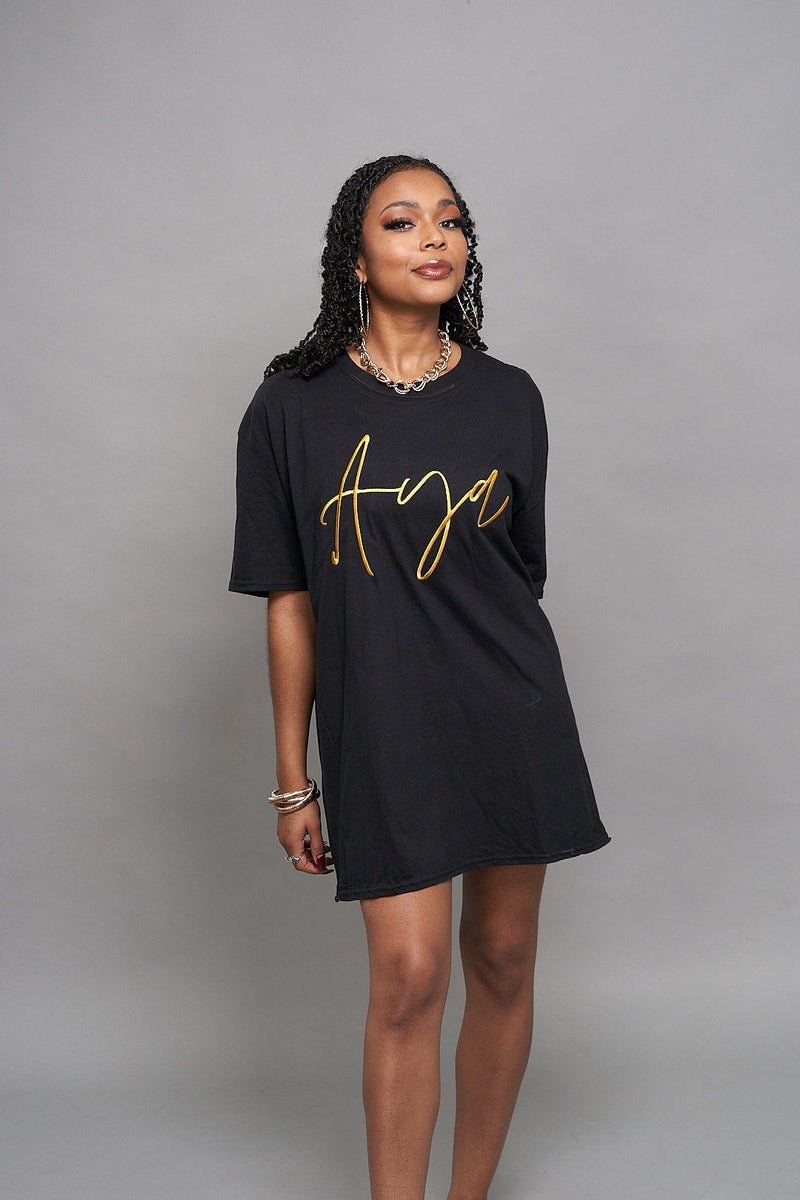 Zoë Aya Tee Dress ayamorrison