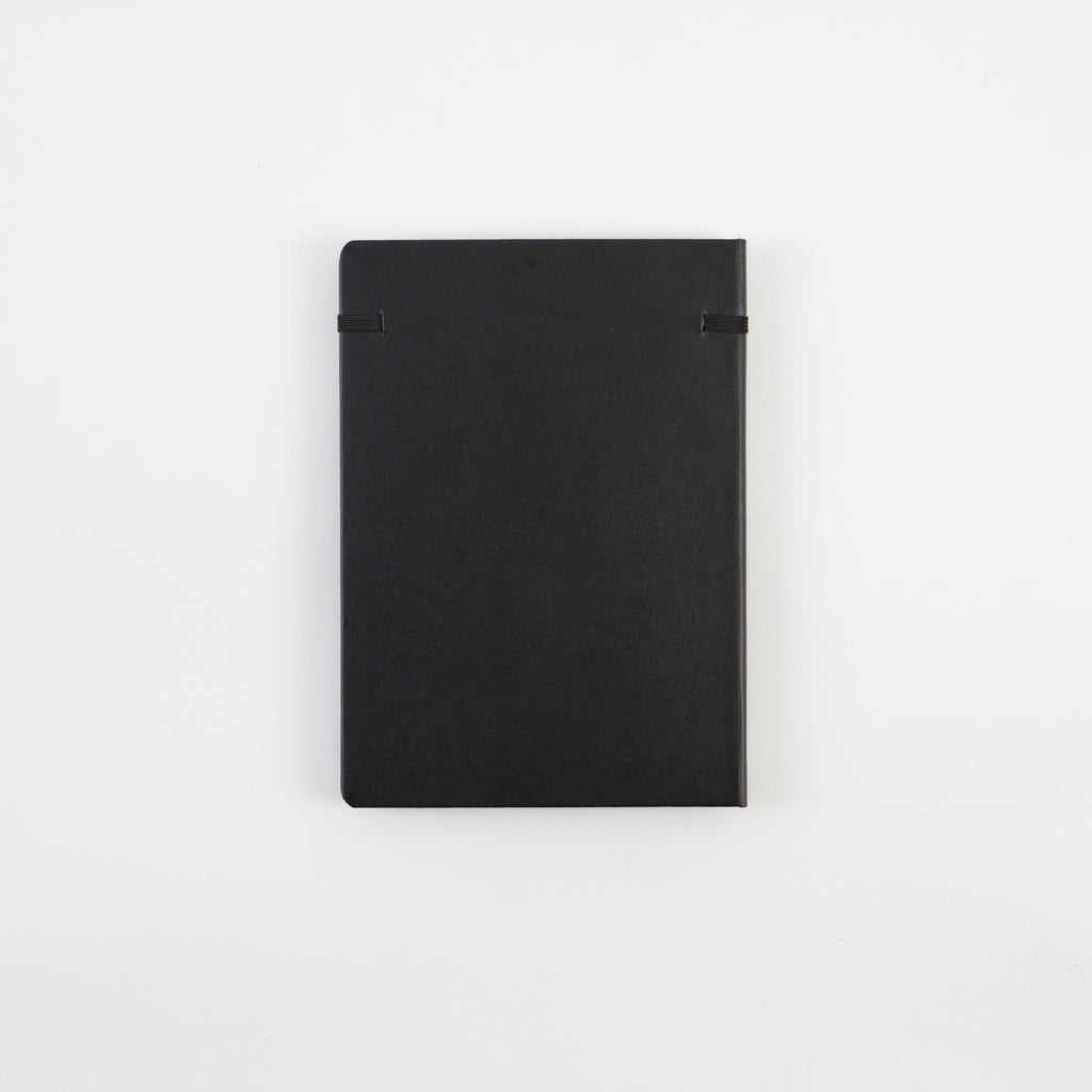 A5 Black Hardcover - Notebloc