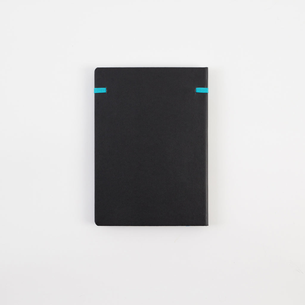 A5 Cyan Hardcover - Notebloc