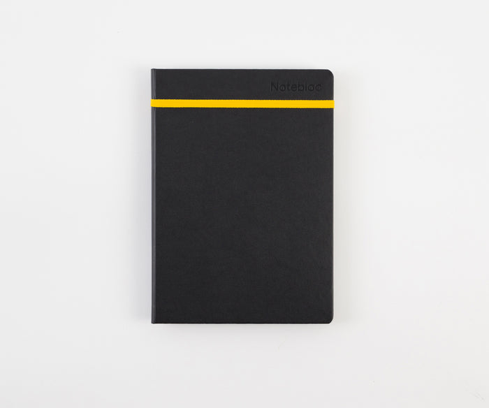 A5 Yellow Hardcover - Notebloc