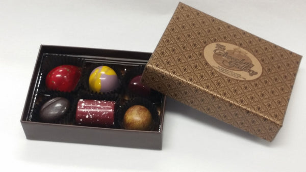 Assorted Box of Six Chocolates