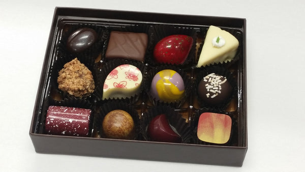 Assorted Box of Twelve Chocolates