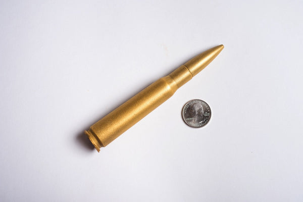 Chocolate .50 Caliber BMG Round