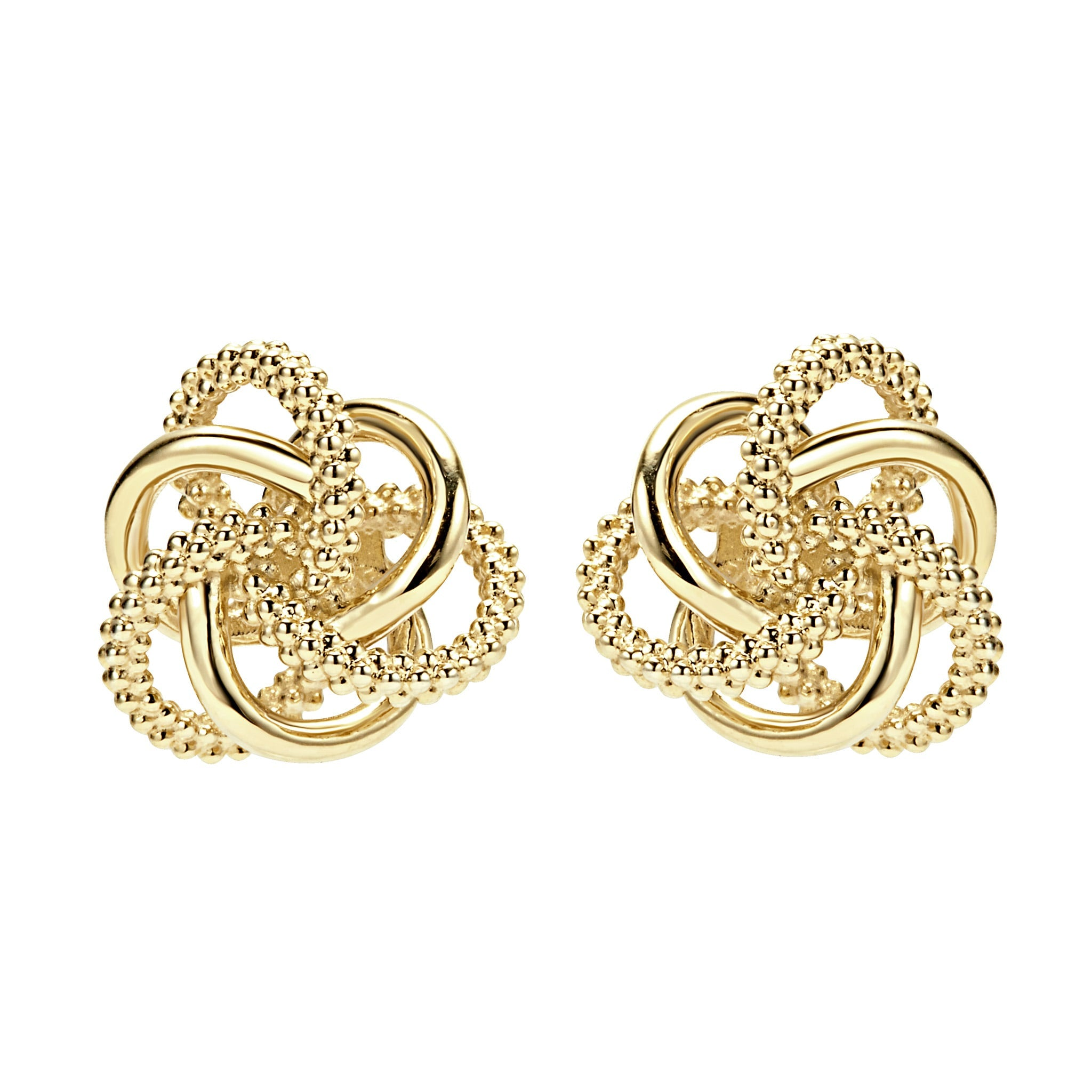 Lagos Love Knot Stud Earrings