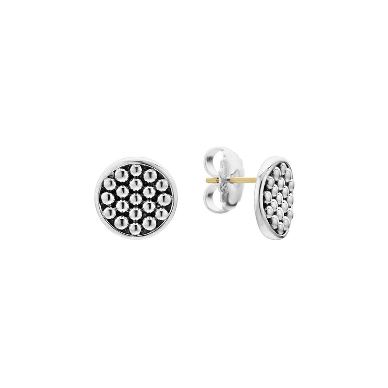 LAGOS Bold Caviar 13mm Stud Earrings