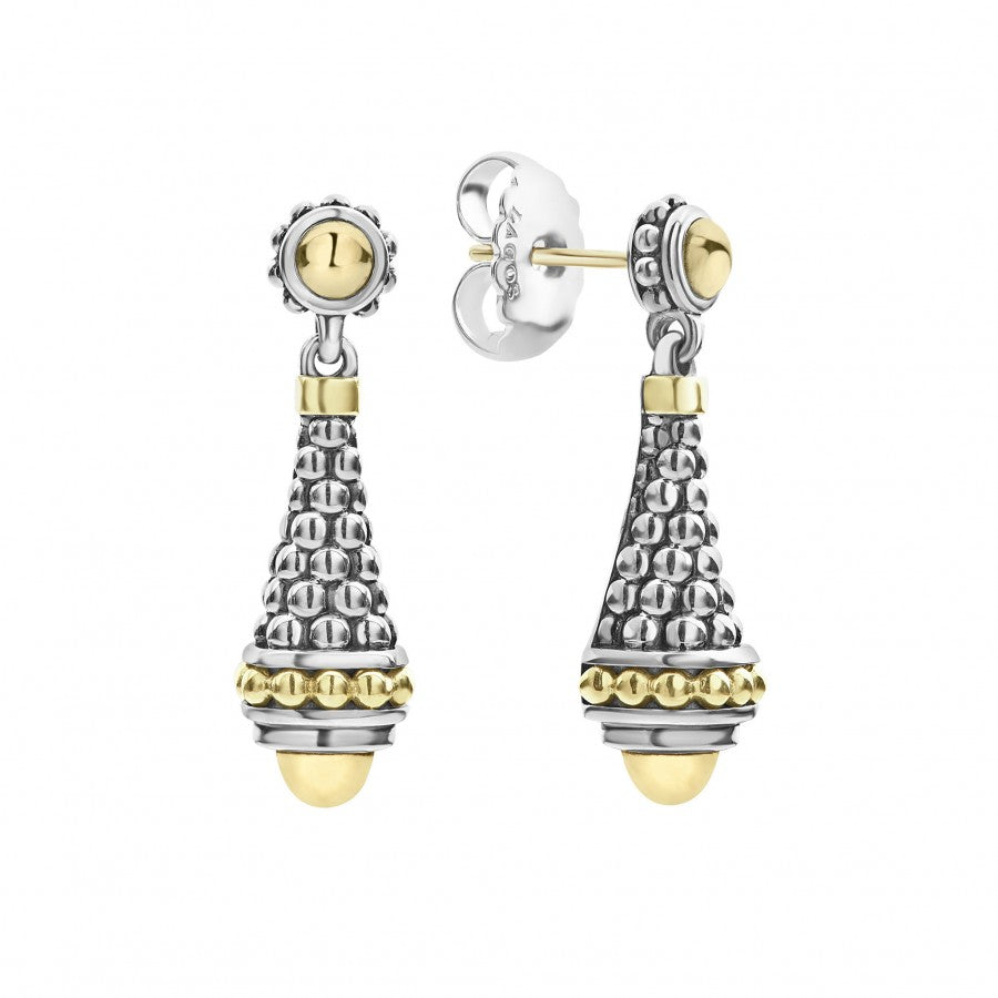 LAGOS Signature Caviar Drop Earrings
