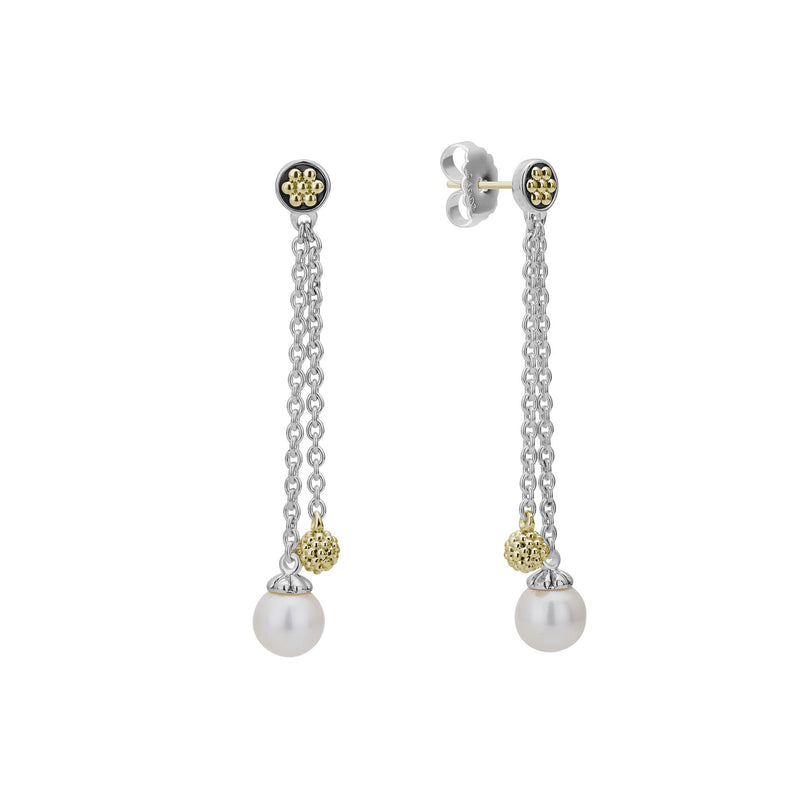LAGOS Luna Pearl Drop Earrings