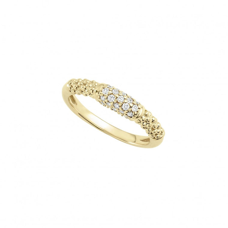 Lagos 'Caviar Gold' Diamond Ring