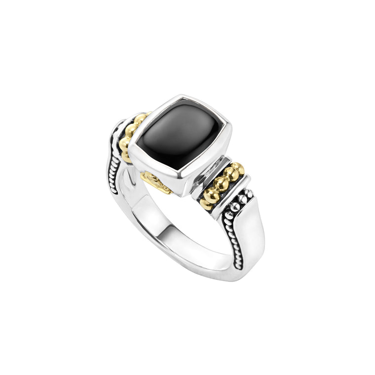 Lagos 'Caviar Color' Black Onyx Ring