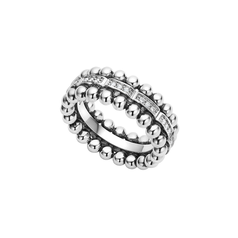 Lagos 'Caviar Spark' Diamond Ring