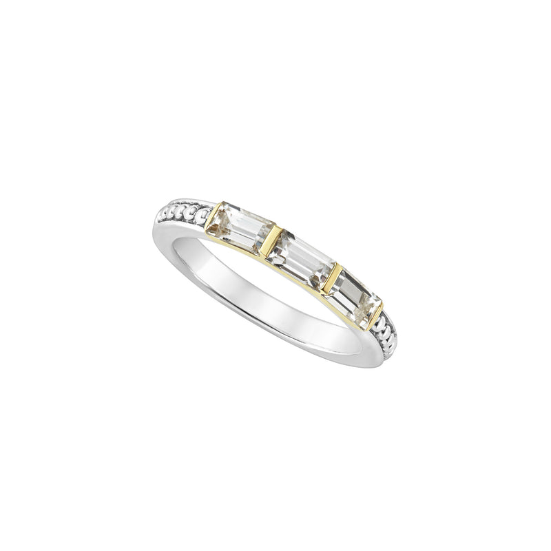 Lagos White Topaz Stacking Ring