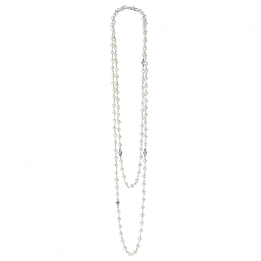 LAGOS Luna Double Wrap Freshwater Pearl Necklace