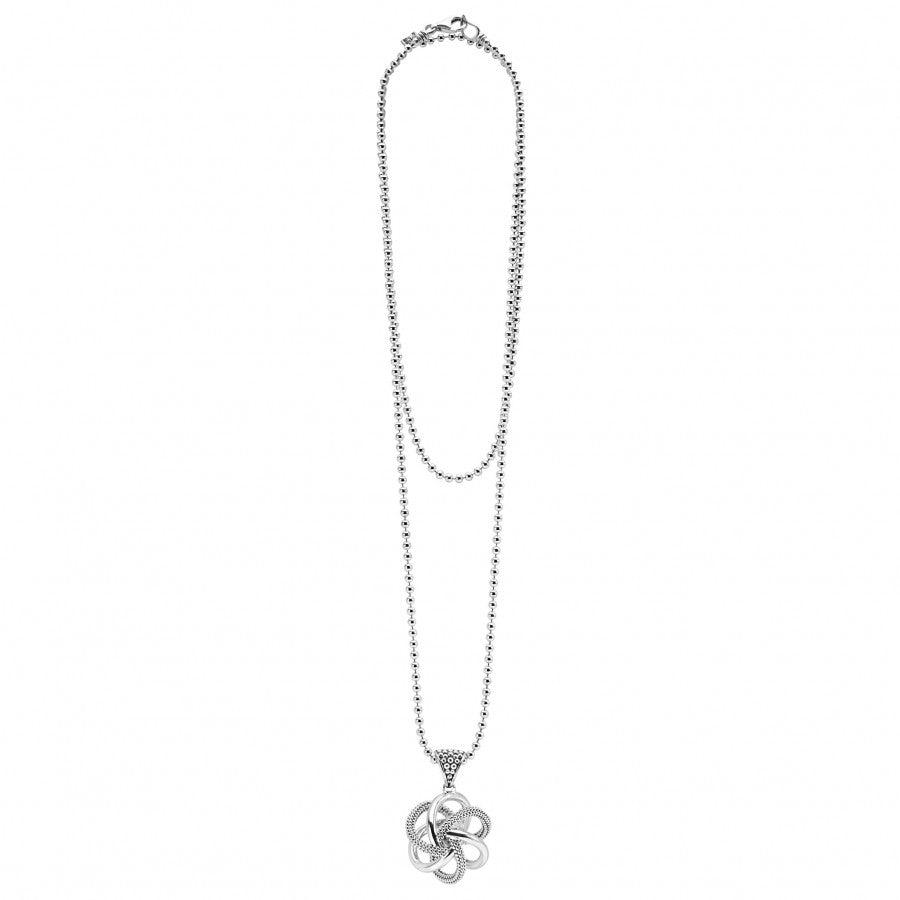 LAGOS Love Knot Pendant Necklace