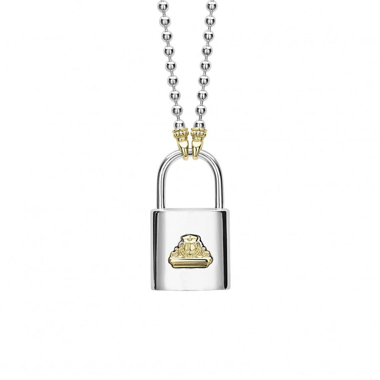 Lagos 'Beloved' Lock Necklace