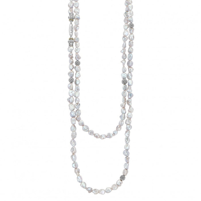 LAGOS Luna Keshi Pearl Layering Necklace