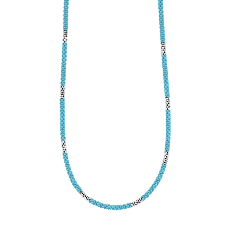 LAGOS Blue Caviar Beaded Necklace
