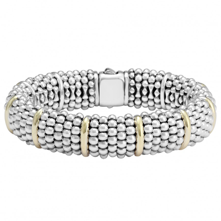 LAGOS Signature Caviar Bracelet with Gold