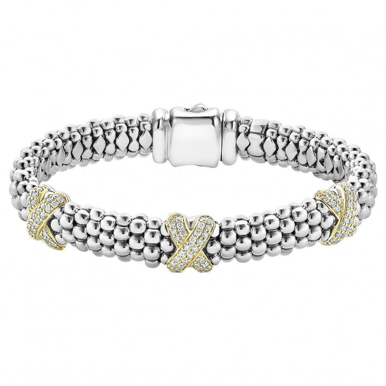 LAGOS Diamond Lux Station Bracelet