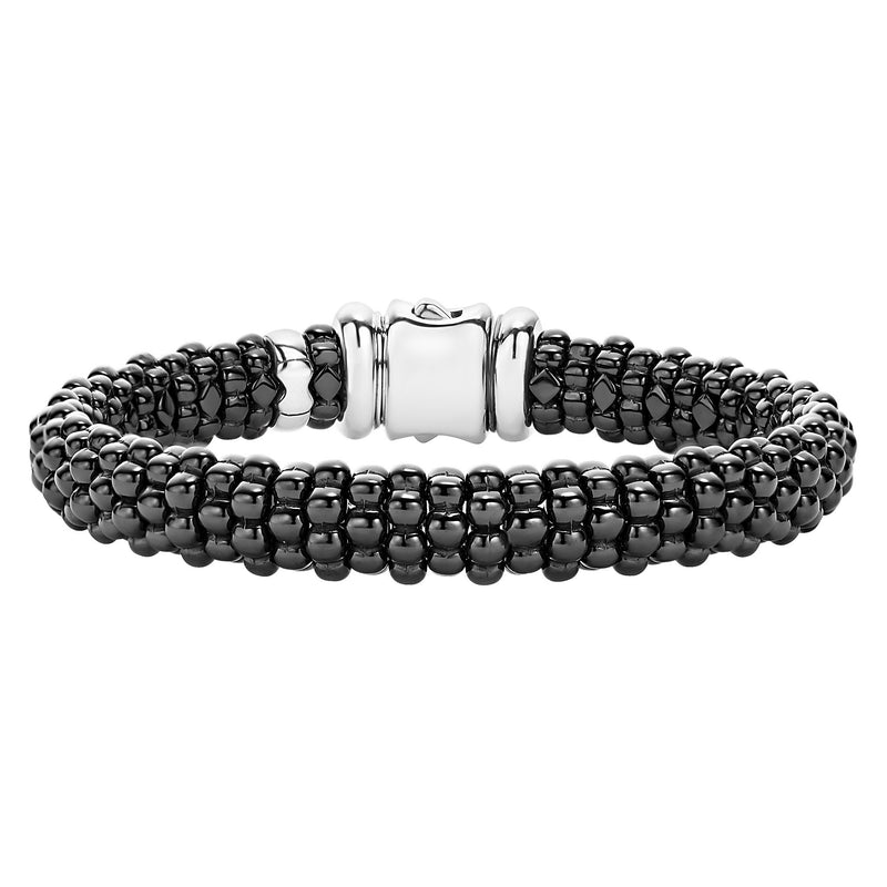 Lagos 'Black Caviar' Beaded Bracelet