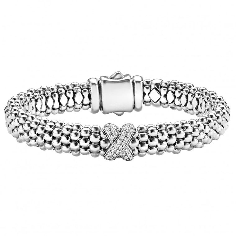 LAGOS 'Diamond Lux' Diamond X Bracelet