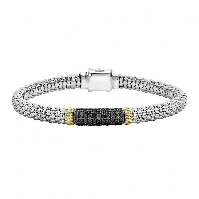 LAGOS 'Diamond Lux' Black Diamond Bracelet