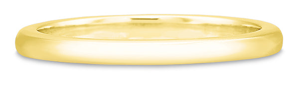 Precision Set New Aire 14k Yellow Gold Wedding Band