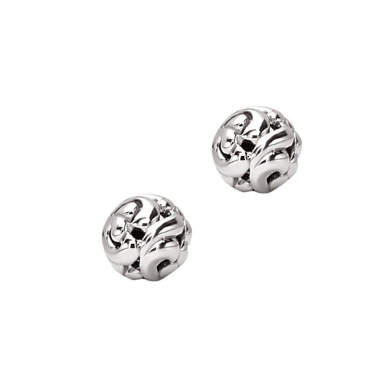 Charles Krypell Ivy Ball 11mm Stud Earrings