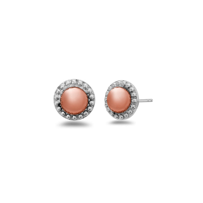 Charles Krypell Firefly Two-Toned Stud Earrings