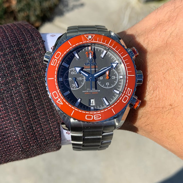 Pre-Owned Omega Seamaster Planet Ocean Watch
