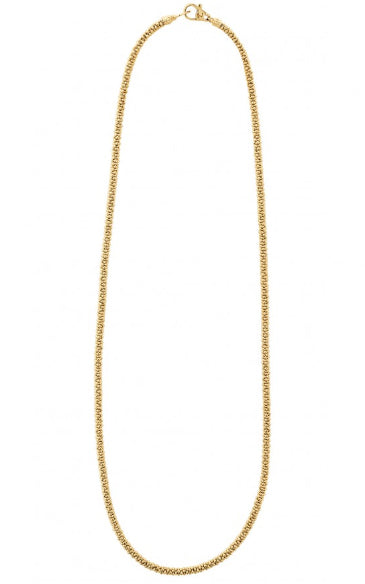 "LAGOS 16"" Gold Caviar Necklace"