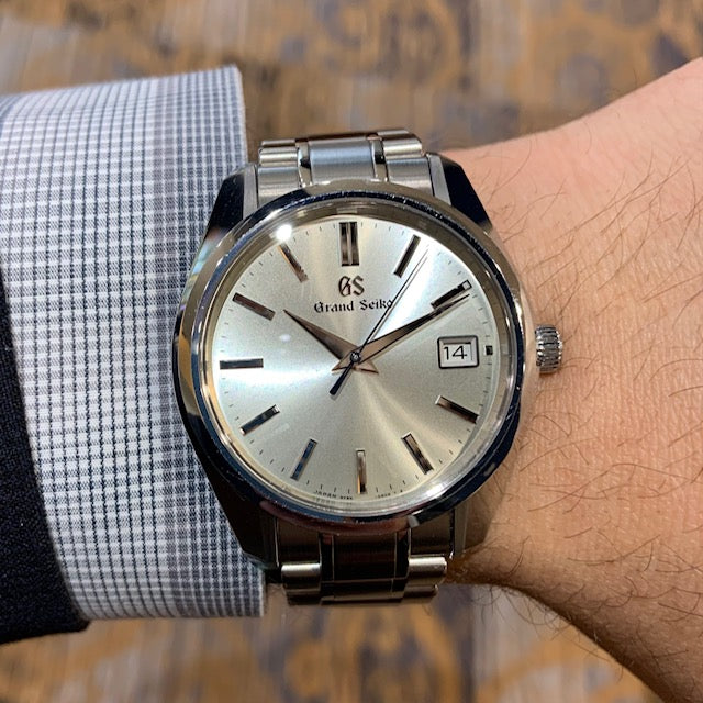 Pre-Owned Grand Seiko Heritage Collection w/ Silver Dial