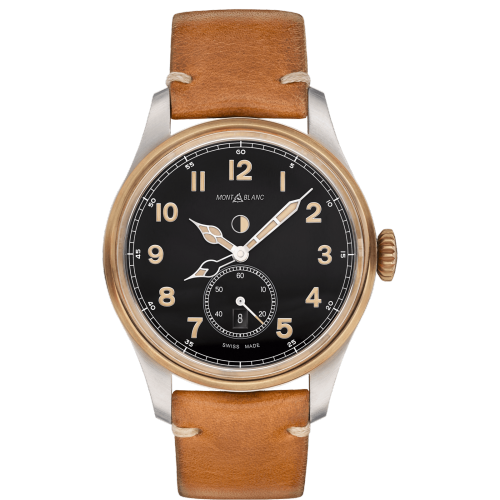 MontBlanc 1858 Automatic Dual Time Watch