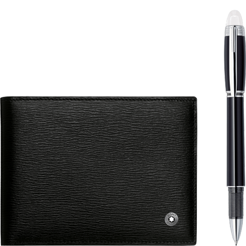 Montblanc Gift Set with Writing Instrument and Wallet