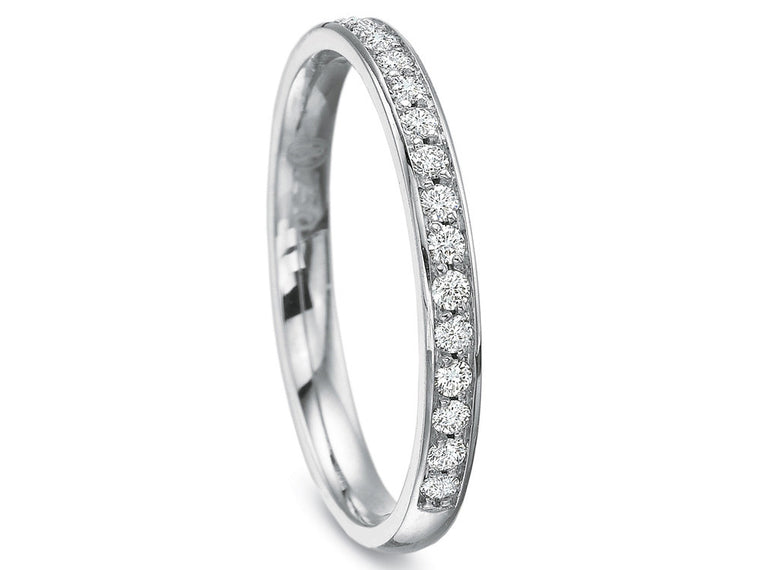 Precision Set New Aire Petite Beadset Diamond Band