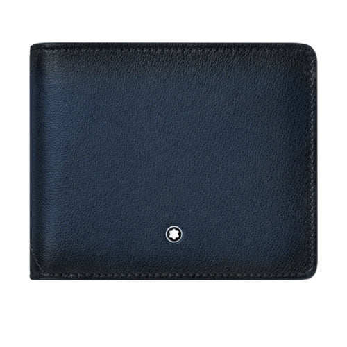 Montblanc Meisterstuck Sfumato Navy Blue Leather Wallet