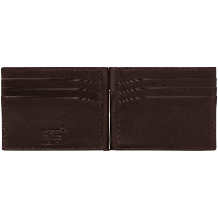 MontBlanc Meisterstück Soft Grain 6cc Wallet with Money Clip