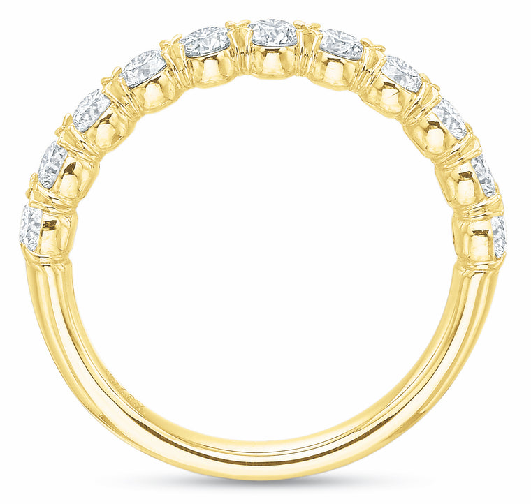 @cupcakering 2.55mm in 14k Yellow Gold