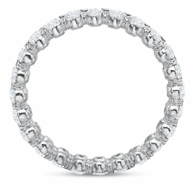 @cupcakering 2.55mm in 14k White Gold