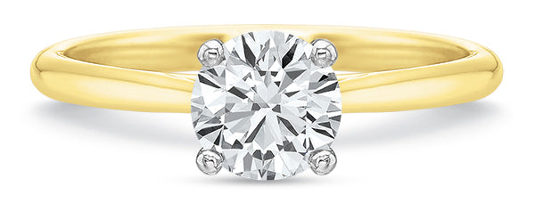 Precision Set  Forevermark New Aire Solitaire Engagement Ring
