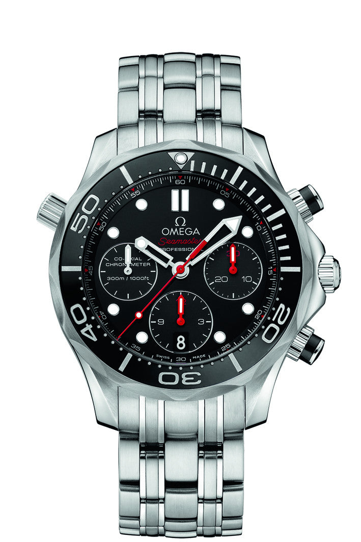 Omega Seamaster 44mm Co-Axial Chronograph Watch