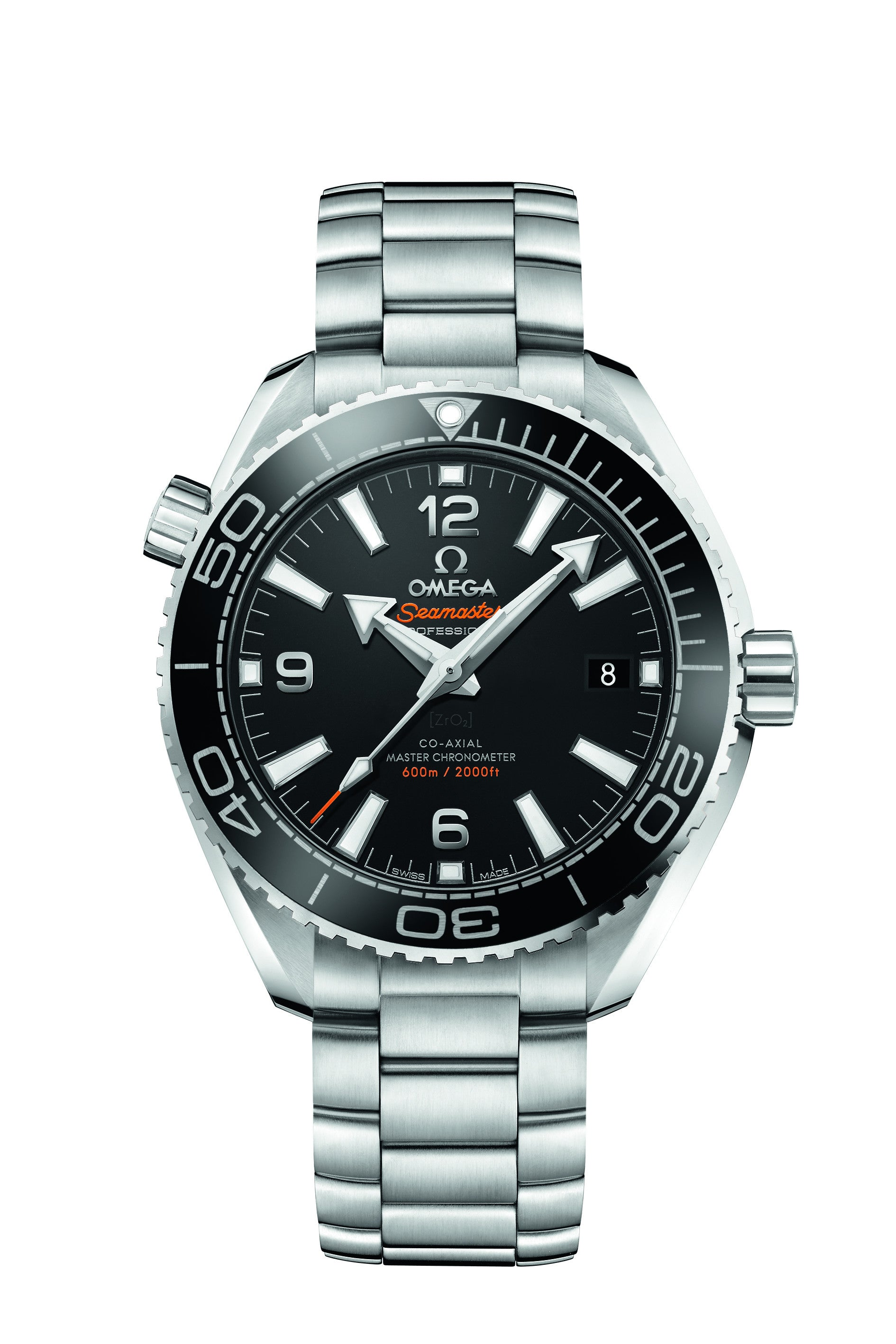 Omega 39.5mm Seamaster Planet Ocean Master Chronometer