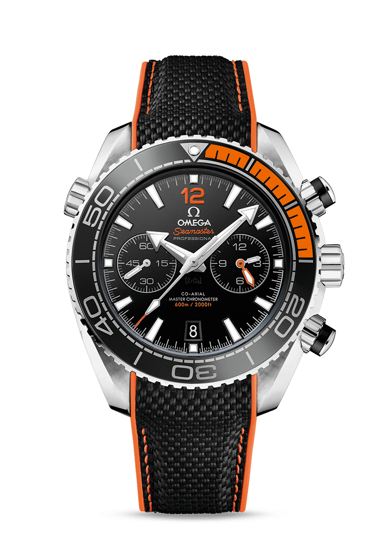 Omega 45.5mm Seamaster Planet Ocean Master Chronometer Chronograph