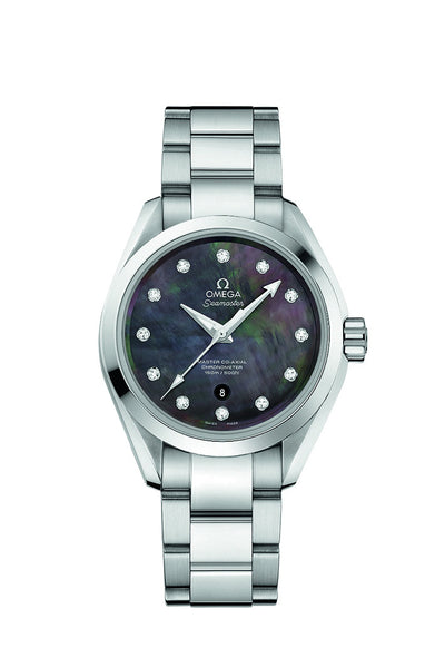Omega Ladies 34mm Seamaster Aqua Terra