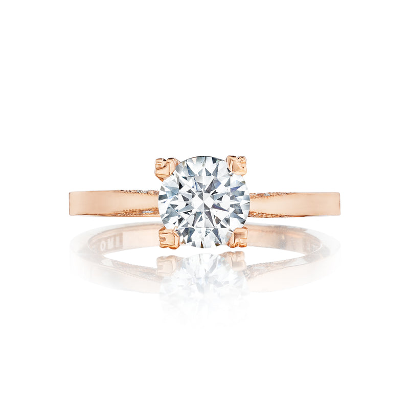 Tacori 'Simply Tacori' Round Solitaire Engagement Ring