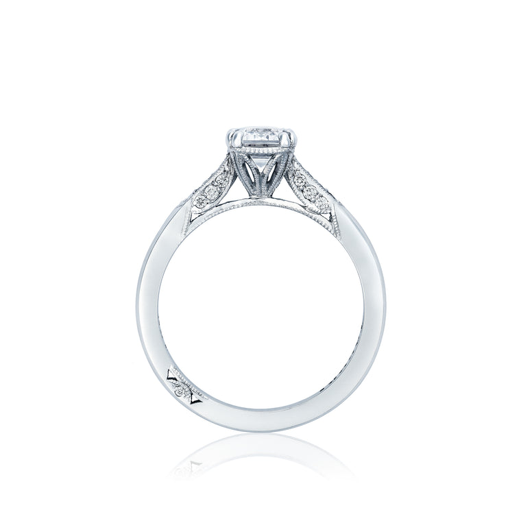 Tacori 'Simply Tacori' 8x6mm Emerald Engagement Ring