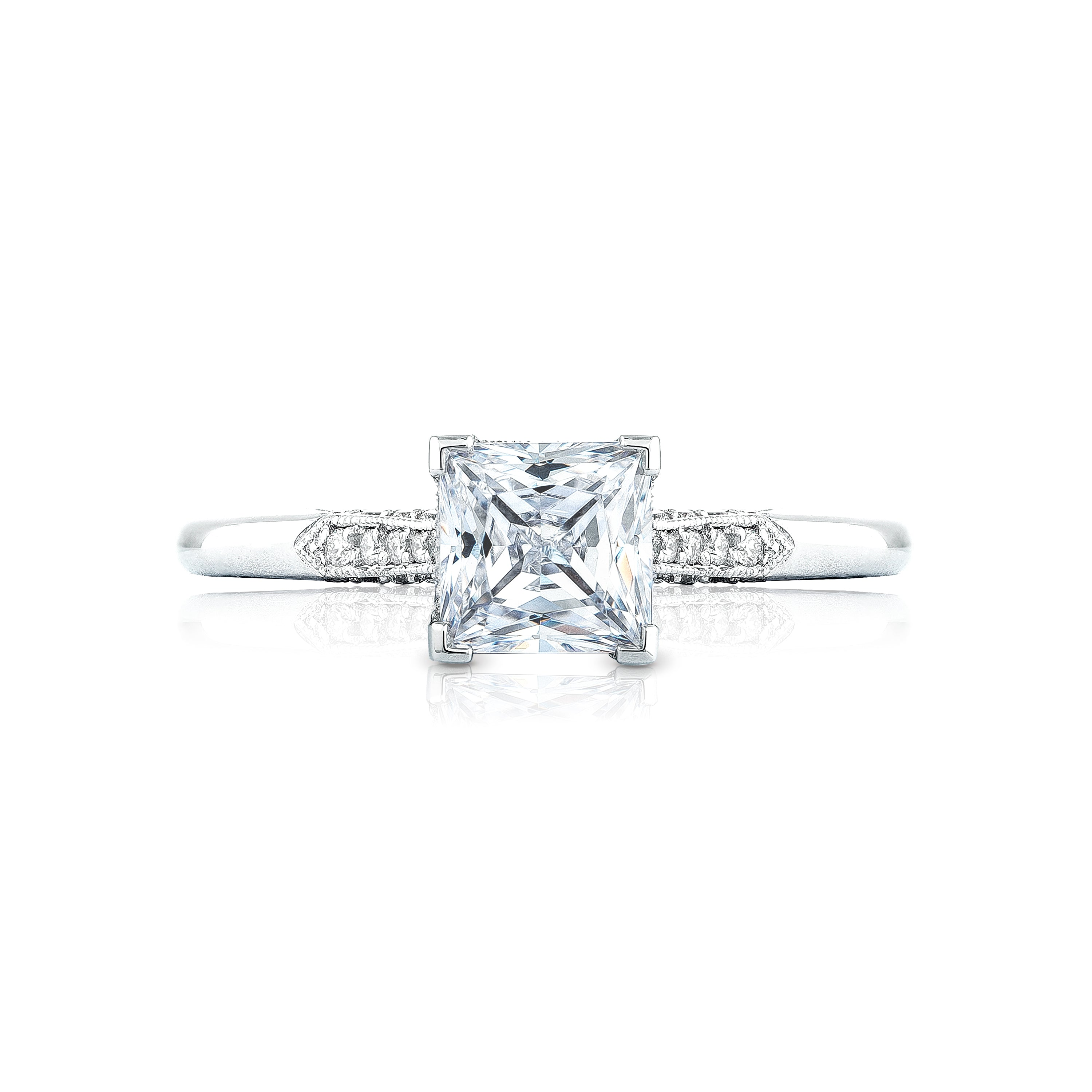 Tacori 'Simply Tacori' 5.5mm Princess Engagement Ring