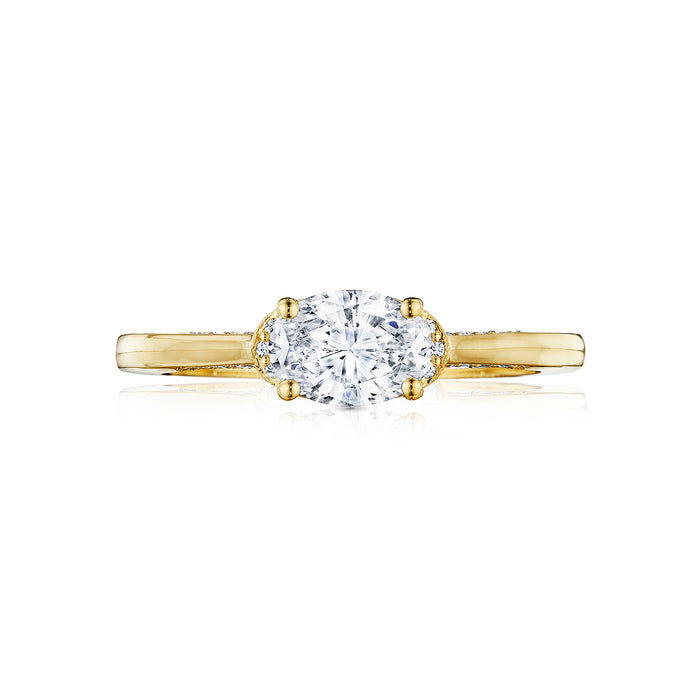 Tacori 'Simply Tacori' 7x5mm Oval Engagement Ring