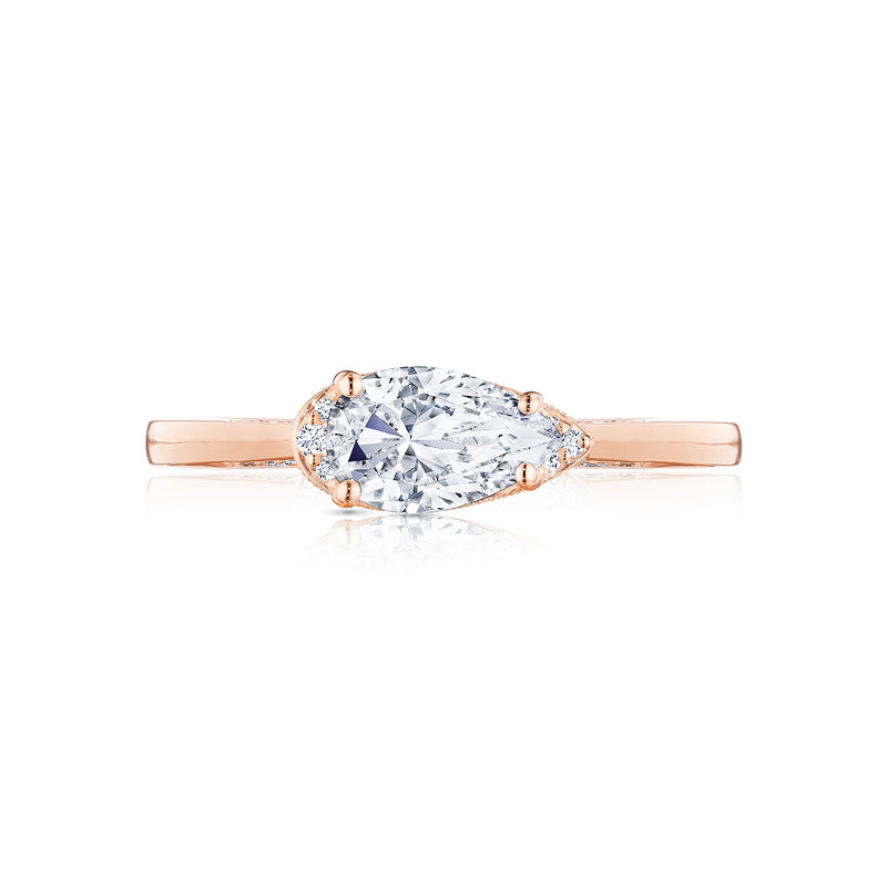 Tacori 'Simply Tacori' 8.5x5.5mm Pear Engagement Ring