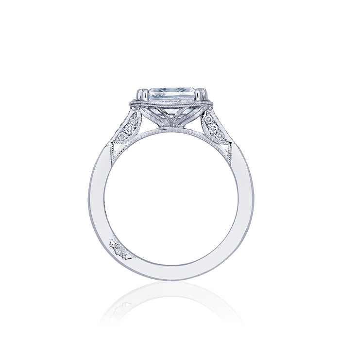 Tacori 'Simply Tacori' 7x5mm Emerald Engagement Ring