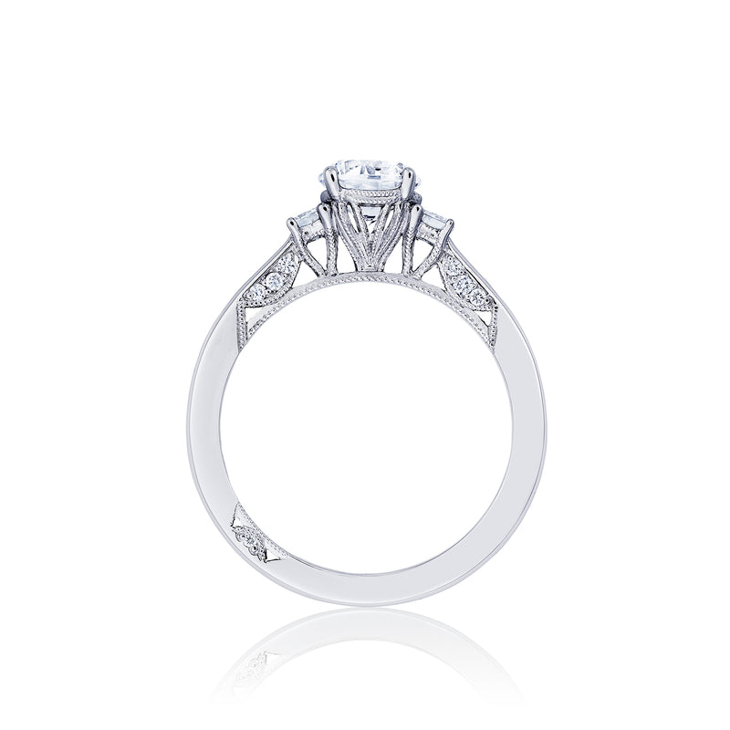 Tacori 'Simply Tacori' 6mm Round Engagement Ring